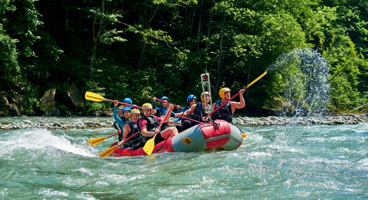 slow rafting pucon