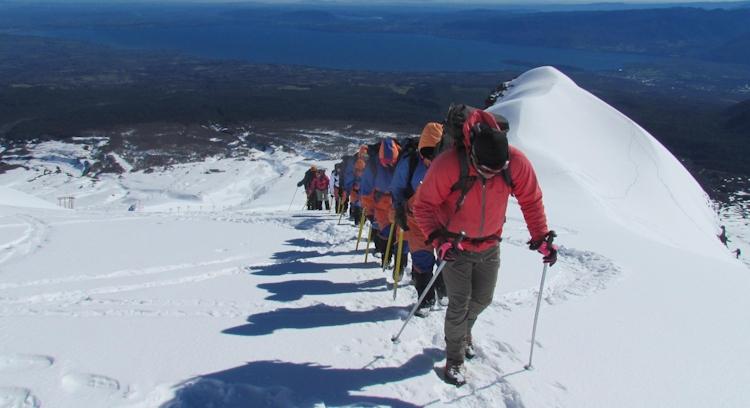 Climb in Araucanía Region