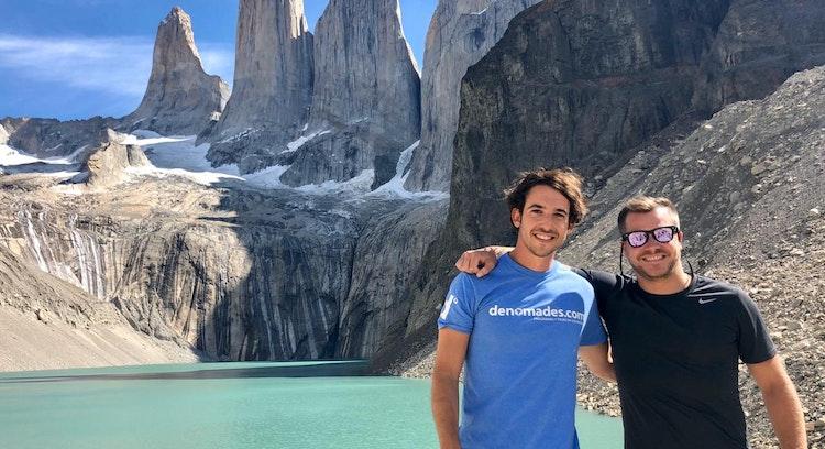 Vale francês em Torres del Paine no Chile