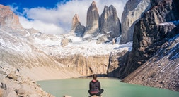 Base of Torres del Paine Hike