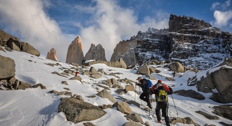 Valle Camino a Base Torres