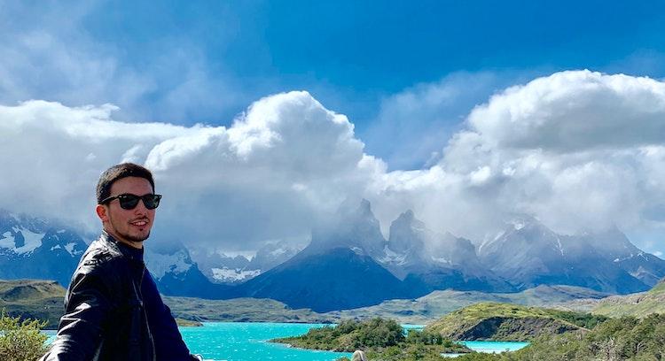 Vista panorâmica Torres del Paine