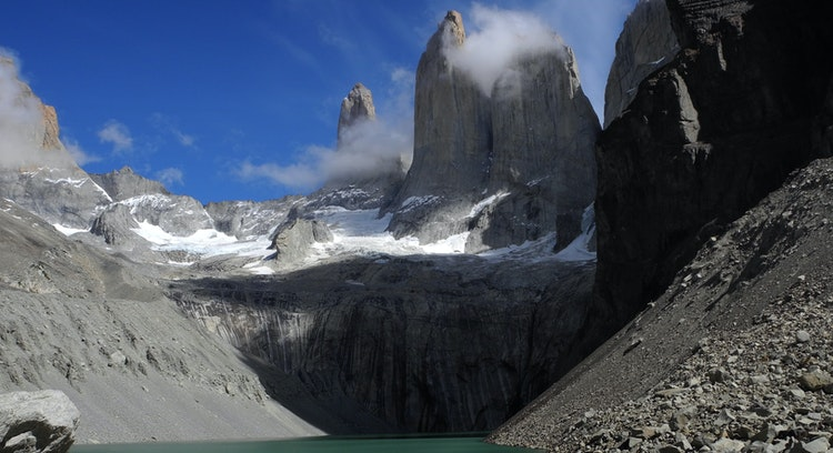 Base of Torres del Paine