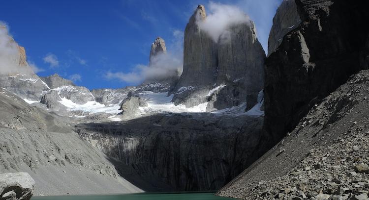 Base das Torres del Paine