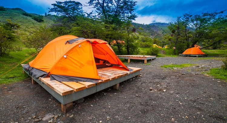 Plataforma camping sector Torre Central