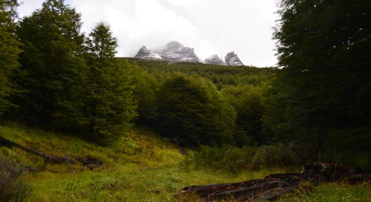 Patagonian landscape of W Circuit