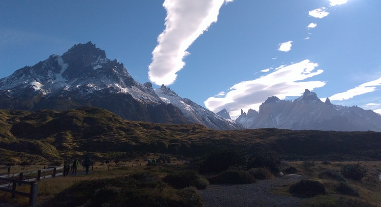 Montanha e Cuernos do Paine