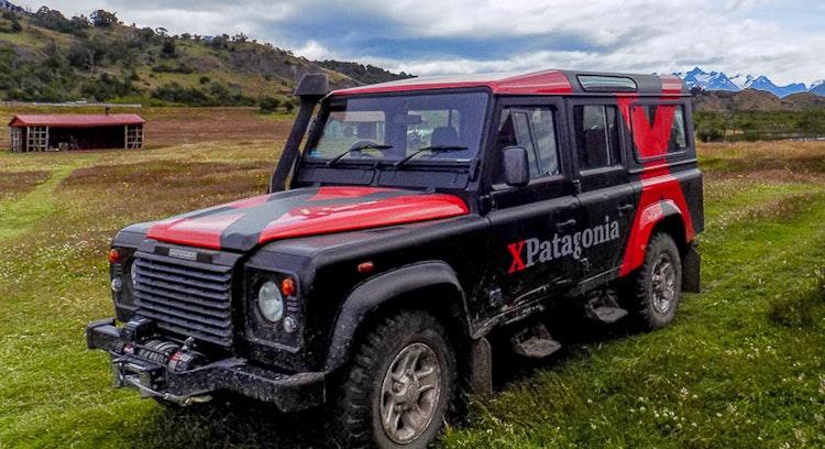 4x4 in Patagonian estancia