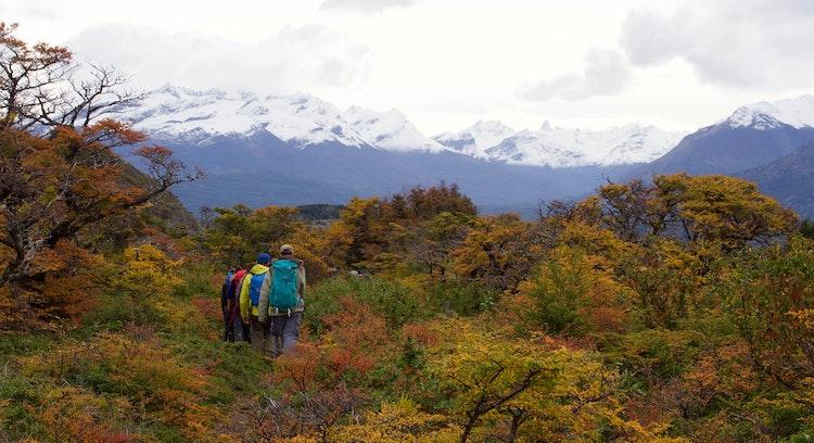 Patagonian estancia trekking