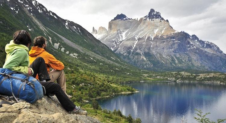 Valle del Francés en Torres del Paine
