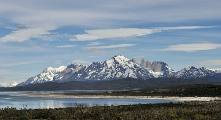 View of Paine Massif.