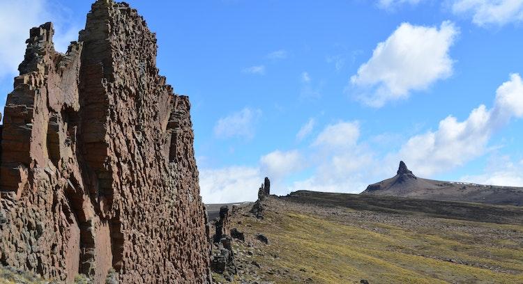 Rocas en Sierra Baguales