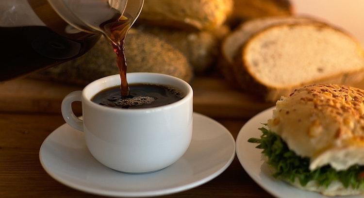 Café-da-manhã no hotel