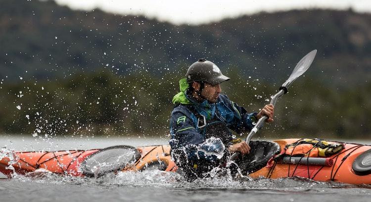 Kayak en Patagonia