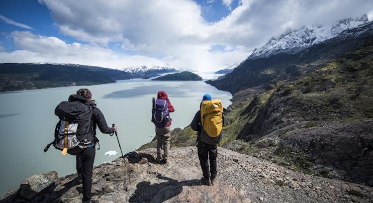 Mirador del glaciar Grey en el circuito W