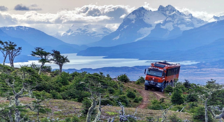 Paisaje patagónico