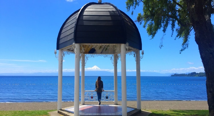 Vista al lago paseo llanquihue frutillar tour