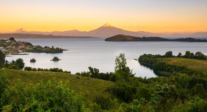 Lago Puyehue en Chile