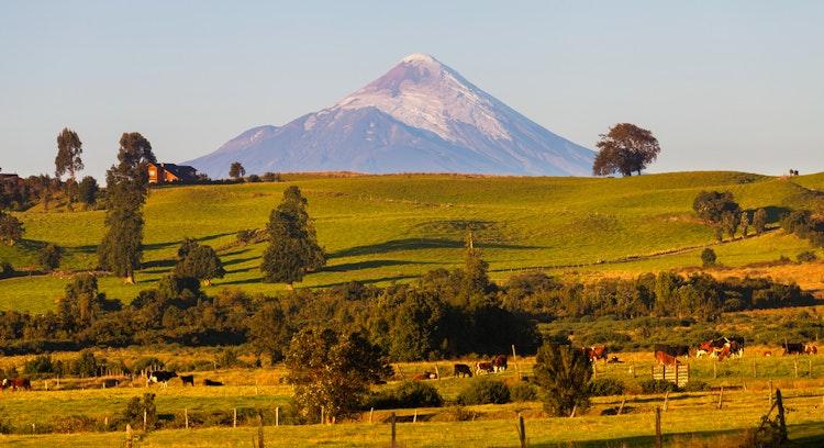 Vulcão Osorno no Chile