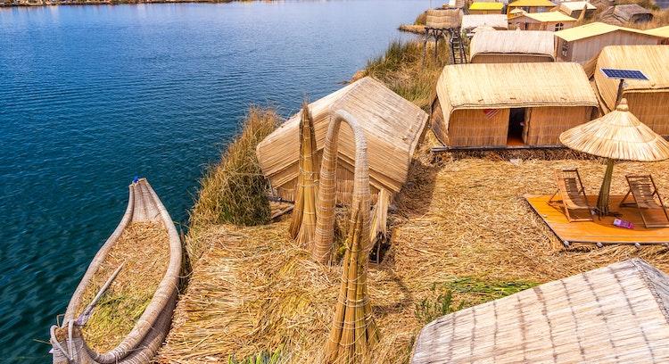 islas de Uros en Perú