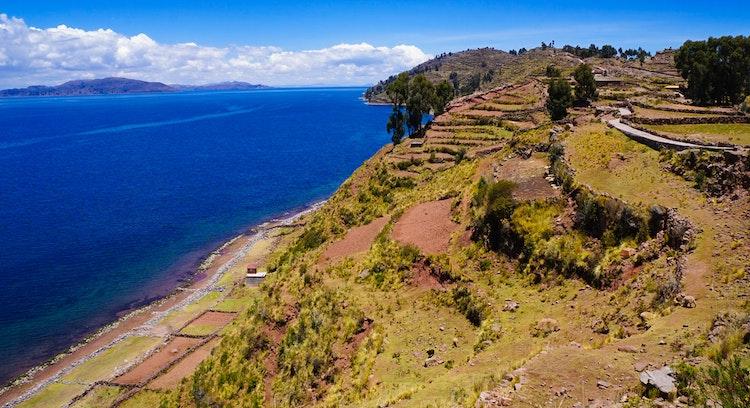 Isla Taquile en Perú