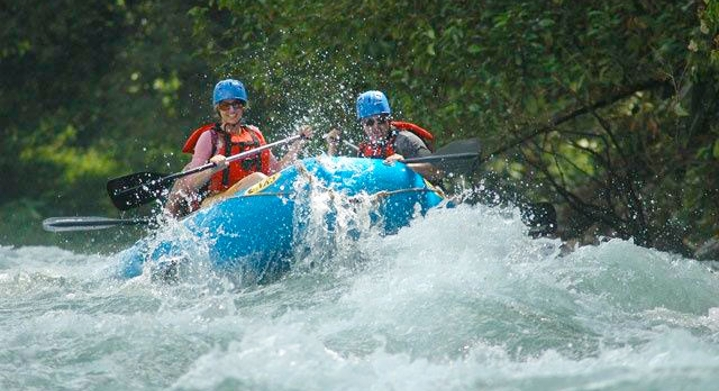 Rafting río Savegre