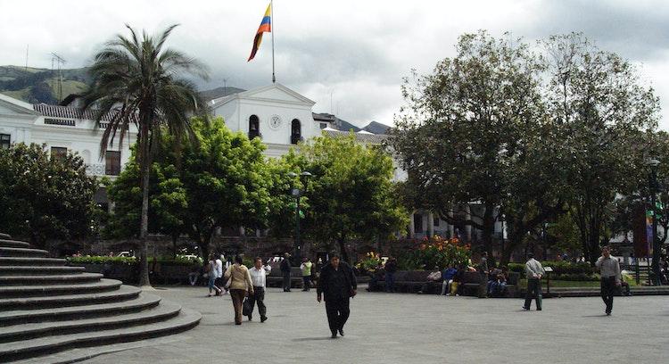 Plaza en Quito