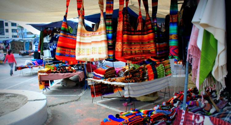 Mercado de Artesanías de Otavalo