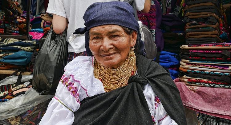 Mulher Andina no Equador