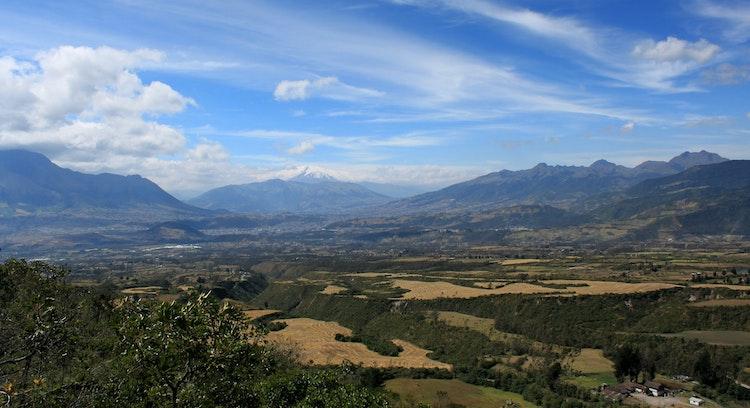 Paisagem Andina em Otavalo