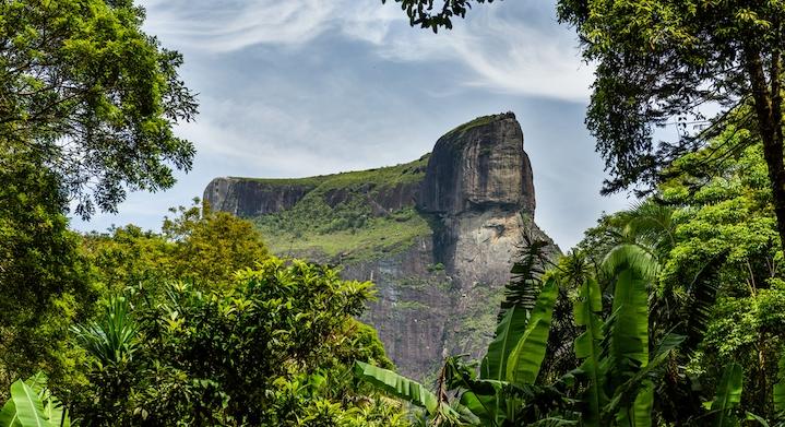 Pedra Bonita en Río Brasil
