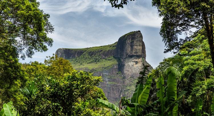 Pedra Bonita in Río Brasil