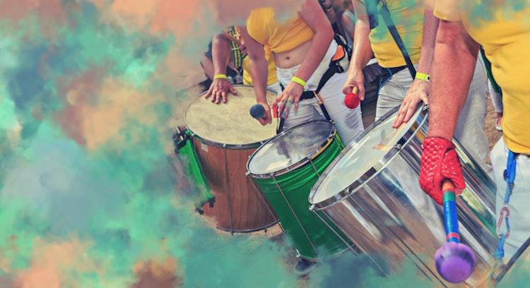 bombos para el baile en brasil