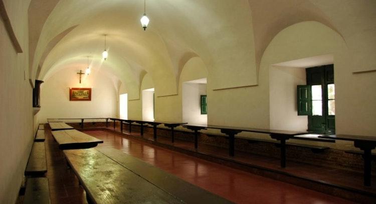 Comedor del edificio histórico