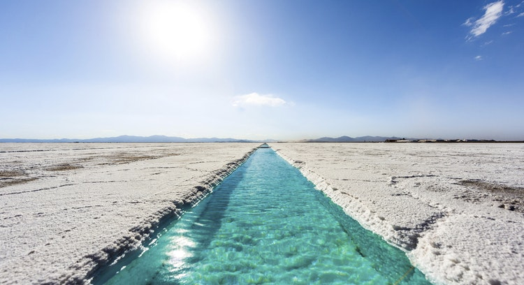 salinas grandes without people