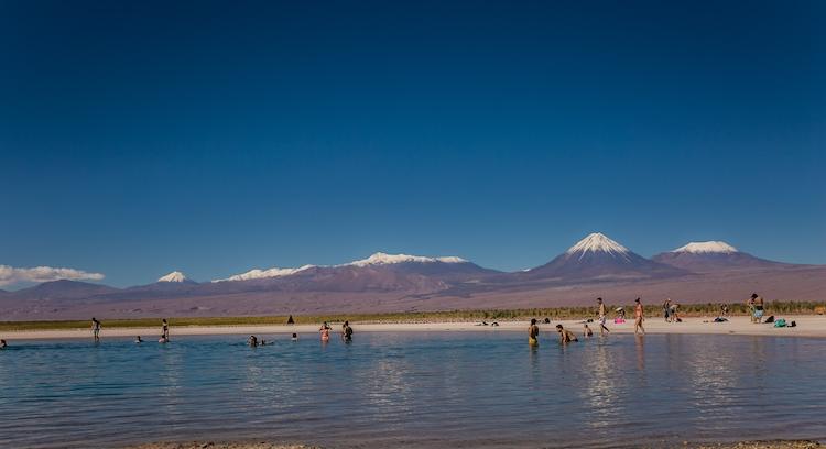 Laguna Cejar en San Pedro de Atacama