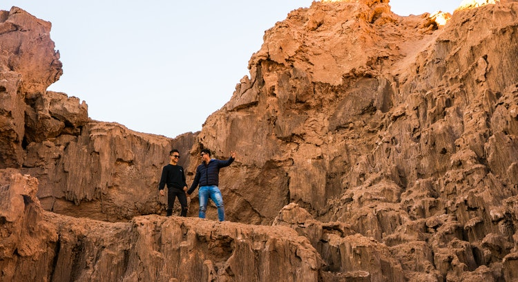 Friends at the Moon Valley