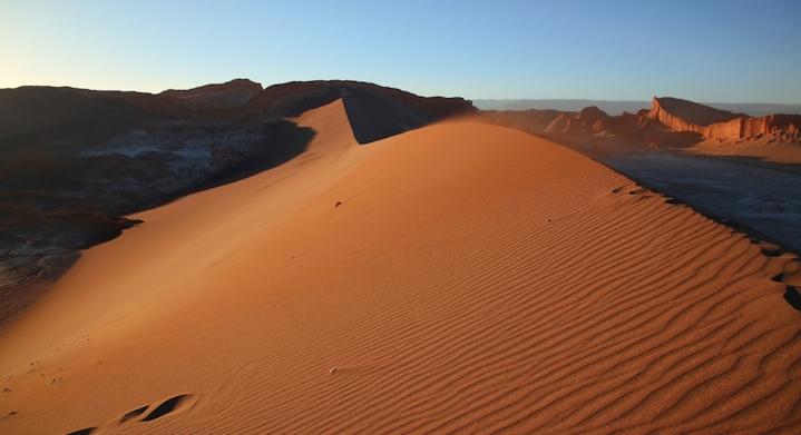 Valle de la muerte en San Pedro de Atacama