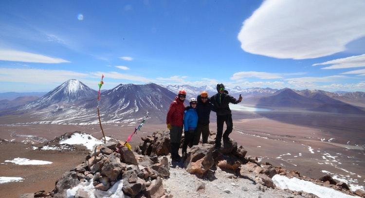 Ascenso al Cerro Toco en Atacama
