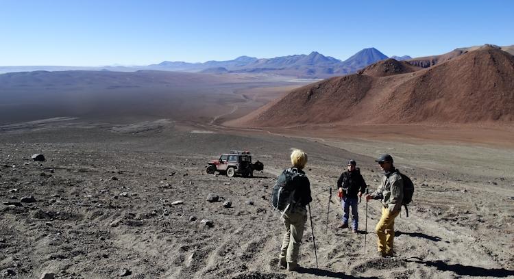 Subida Vulcão Láscar en San Pedro de Atacama