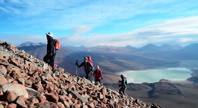 Ascenso volcán Licancabur en Atacama