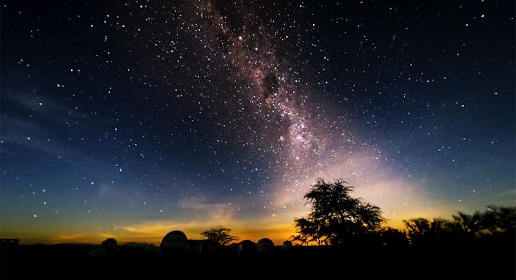 Céu estrelado em San Pedro de Atacama