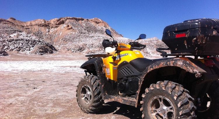 Cuadrimotos Cordillera de la Sal