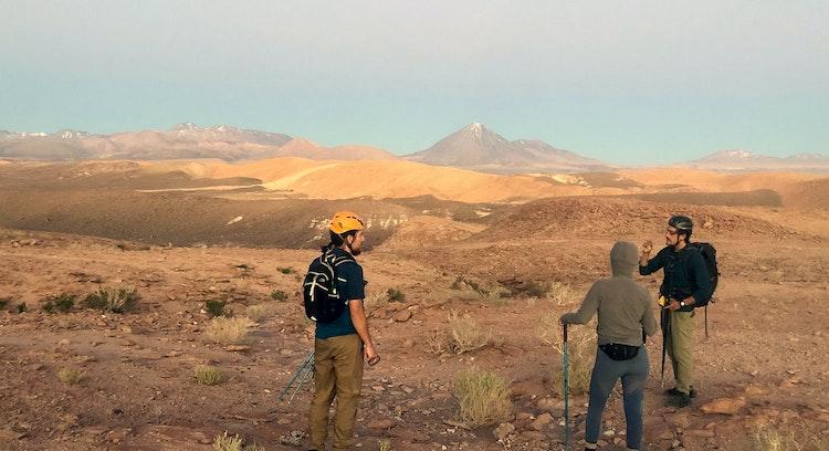 Anochecer Desierto Atacama