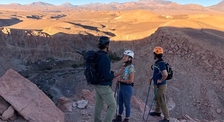 Atardecer Desierto Atacama