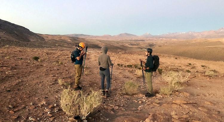 Personas Desierto Atacama
