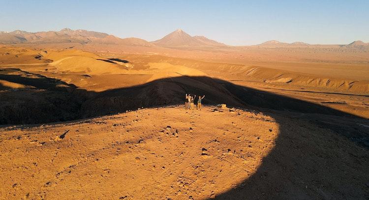Salt Mountain Range Night Trek
