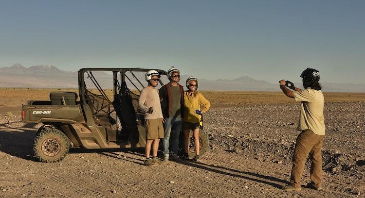 Buggy no deserto de Atacama