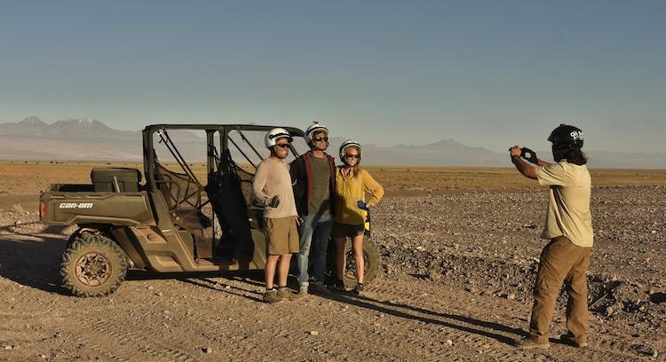 Buggy en el desierto de Atacama