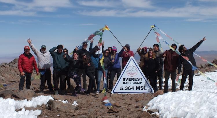 Estación campamento base Everest